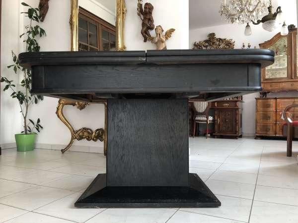 Jugendstil Tisch Esstisch Speisezimmertisch Auszugtisch X2081