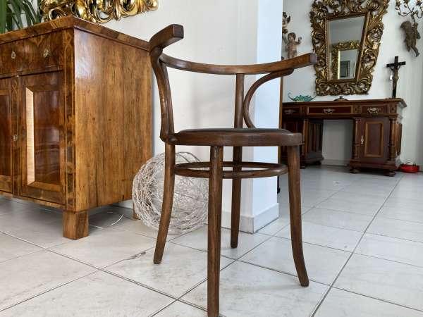 originaler Bugholzsessel Stuhl Sessel Armlehnstuhl Holzsessel A2148