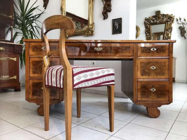 Originaler Spätbiedermeier Schreibtisch Sekretär Schreibmöbel E1315