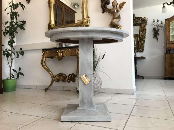 ovaler Bauerntisch Landhaustisch Beistelltisch X2237