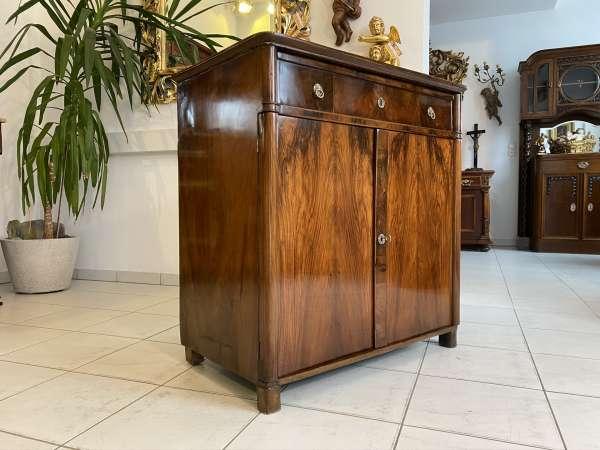 restauriertes Biedermeier Trumeau Anrichte Kommode E2099