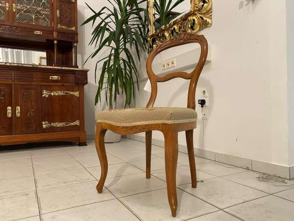 originaler Spätbiedermeier Sessel = 1 Stück Traumstück E2355