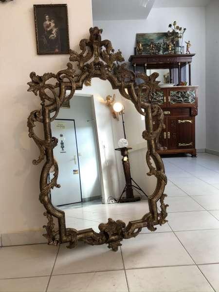 goldener Wandspiegel Spiegel Florentiner Dekospiegel Stil E1274
