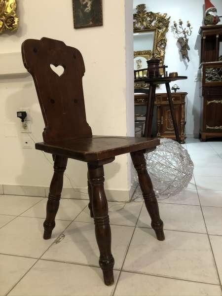 Bauernsessel Sessel Stuhl Herzerlsessel Zirbenholz Z2267