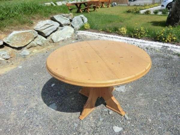 alter runder Bauerntisch Beistelltisch Tisch Landhaustisch - 5366