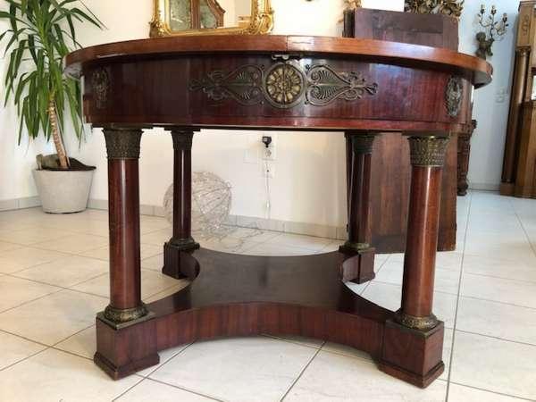 Empire Tafeltisch Tisch Esstisch Auszugtisch Rittertisch 4m Z1076