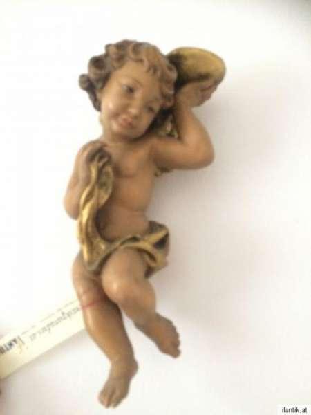 himmlische Engelsfigur Engel Holzfigur Holzschnitzerei Nr. 8384