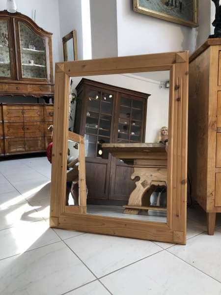 bäuerlicher Spiegel Holzspiegel Wandspiegel Dekospiegel X1935