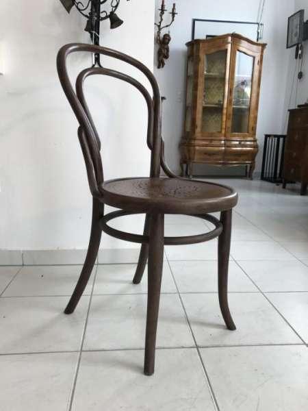 originaler Sessel Stuhl Jugendstil J. Kohn Bugholzmöbel W3111