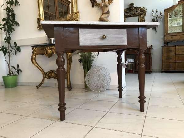 hübscher Bauerntisch Landhaustisch Beistelltisch X2131