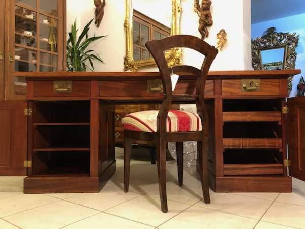 Originalstück Jugendstil Schreibtisch Sekretär Schreibmöbel Freisteher X2752