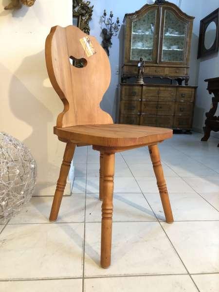 Bauernsessel Sessel Stuhl Landhaussessel Fichtenholz X2490