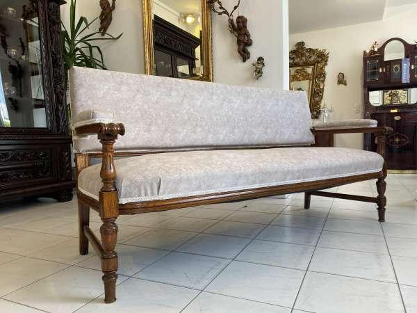 prächtiges Gründerzeit Sofa Diwan Couch Dekostück A2633