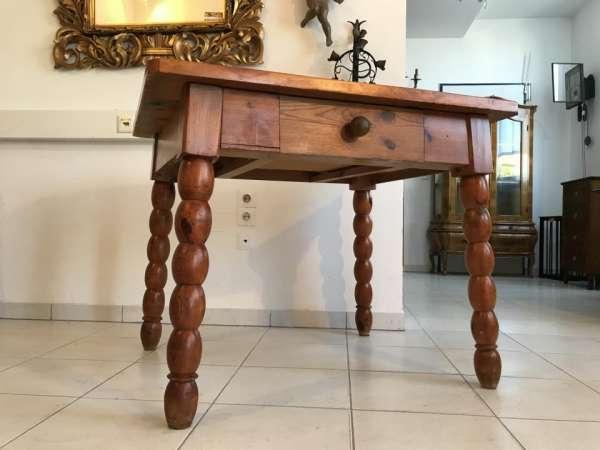 alter uriger Bauerntisch Zirbenholz Tisch Bauernstube W3220