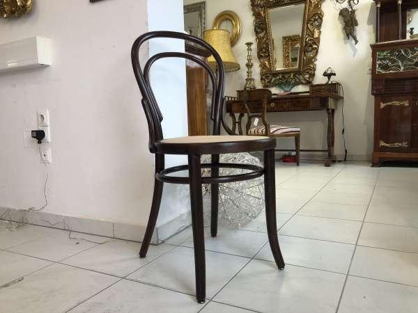 restaurierter Bugholzsessel Stuhl Sessel Holzsessel Thonet E1091