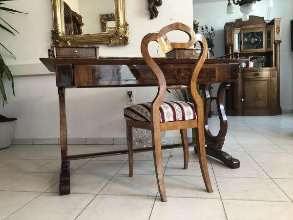 Originaler Spätbiedermeier Schreibtisch Sekretär Schreibmöbel Z1698