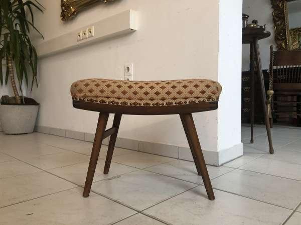 Bauhaus Hocker dänisch MID CENTURY RETRO Design Sessel Z1428