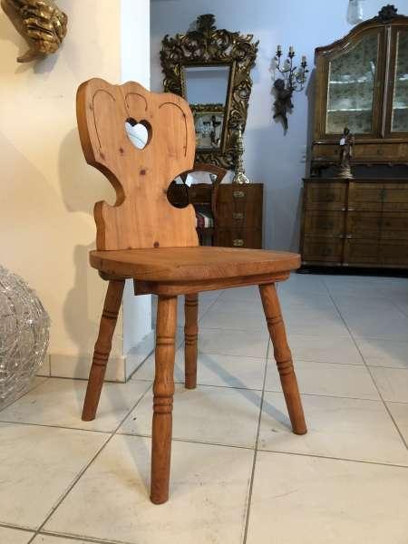 Bauernsessel Sessel Stuhl Landhaussessel Fichtenholz X2491