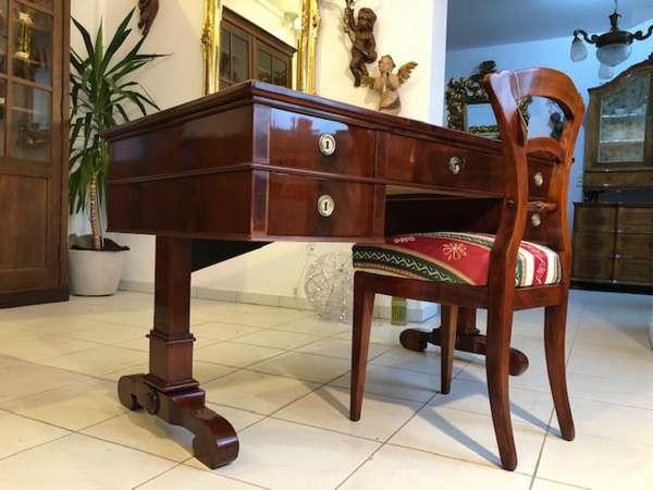 Restaurierter Biedermeier Schreibtisch Sekretär X2595