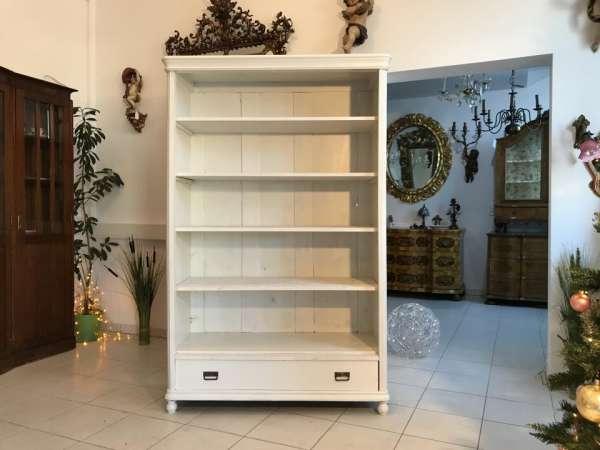 massives Küchenregal Bücherstellage Fichtenholz Naturholzmöbel Bauernstube W3584