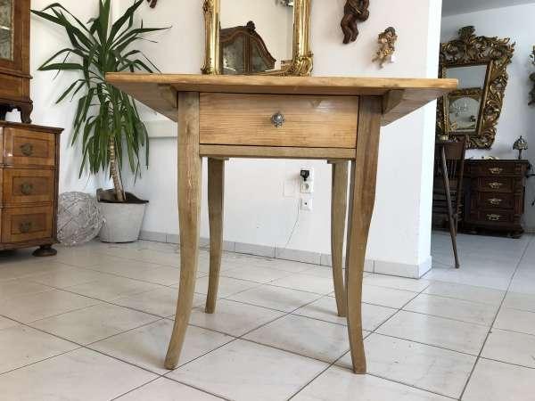 alter Bauerntisch Tisch Landhaustisch Naturholz Z1303