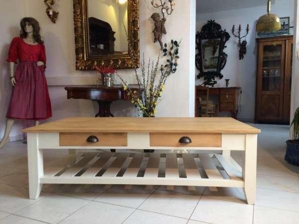 stilvoller Couchtisch Tisch Landhausmöbel Traumstück Nr 9018