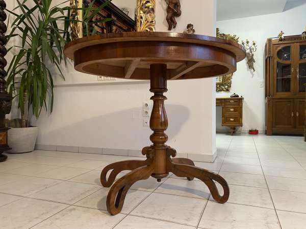 restaurierter Gründerzeit Tisch Esstisch Beistelltisch Traum A1197