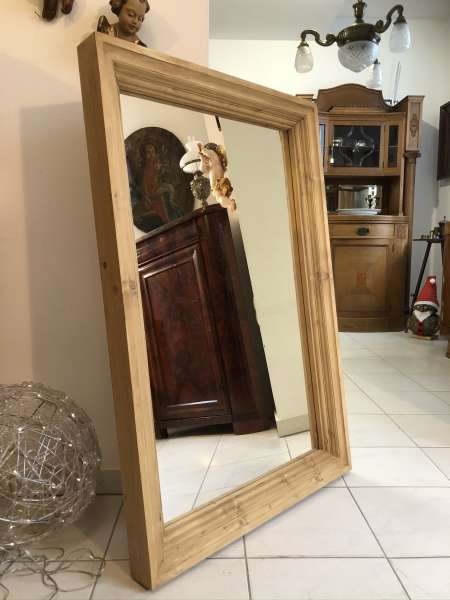 massiver Naturholzspiegel Spiegel Holzspiegel Wandspiegel Dekospiegel Z2111