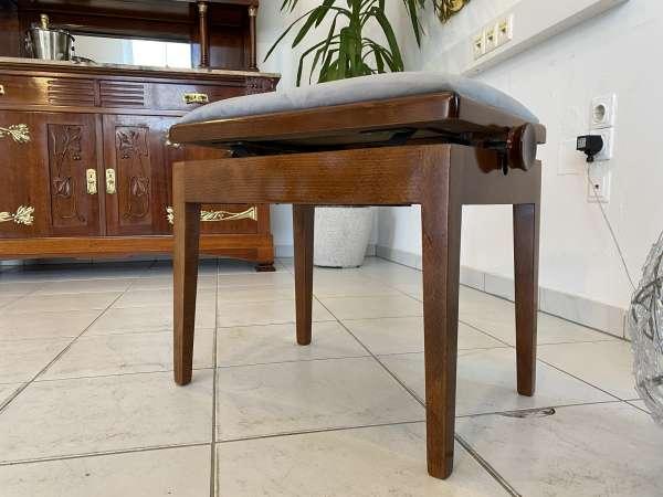 Klavierhocker Schemel Hocker Drehstuhl Art Deco Stuhl E2327
