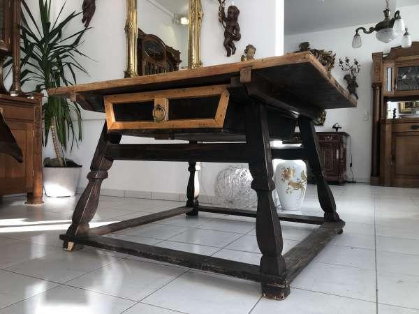 alter Jogltisch Tisch Bauerntisch Landhaustisch Naturholz Z1980