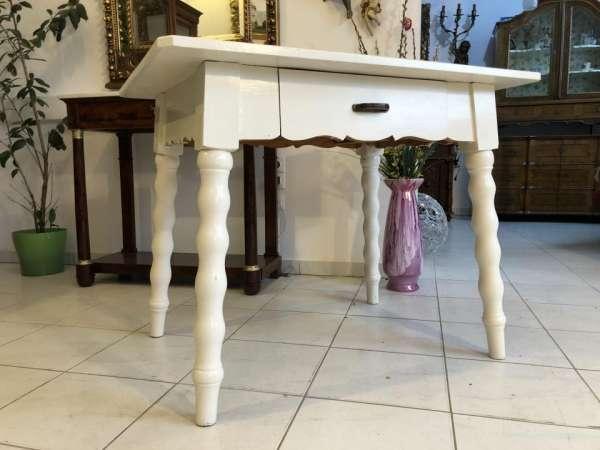 schwerer Tisch Bauerntisch Jogltisch Landhaustisch Bauernstube X1436