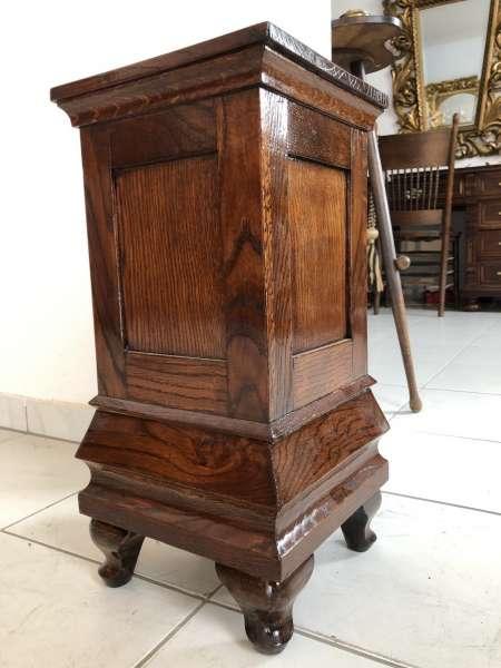 originale Holz Podest Postament Sockel Podest Z1325