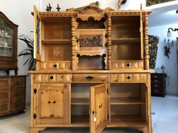 Küchenbuffet Küchenschrank Zirbenholz Kasten Z1489