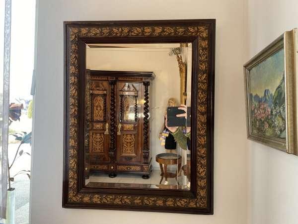 originaler Jugendstil Spiegel Rahmen Ornamentik Traum A2229
