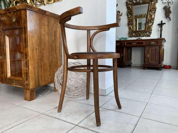 originaler Bugholzsessel Stuhl Sessel Armlehnstuhl Holzsessel A2149