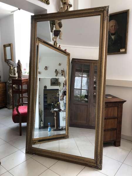Wandspiegel Wohnzimmerspiegel Dekospiegel Barock Bronze X2074