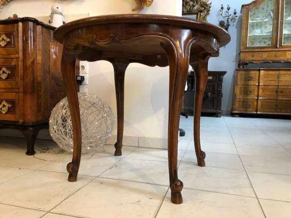 hübscher Barockstil Couchtisch Tisch Glastisch x2709