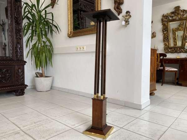 elegantes Jugendstil Postament Säule Podest A2467