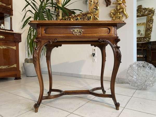 hübscher Pfeiferlbarock Damen Schreibtisch Sekretär E2031