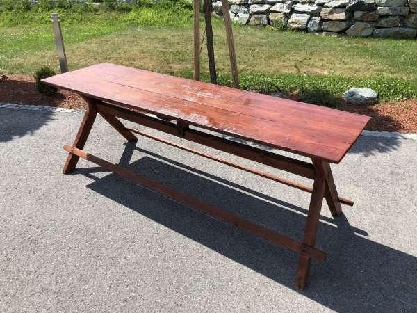 uriger alter Bauerntisch Tafeltisch Wirtshaustisch Tisch X1954