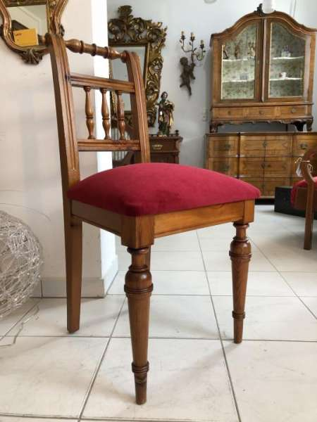 Bauernsessel Sessel Stuhl Sprossenstuhl Zirbenholz x1908