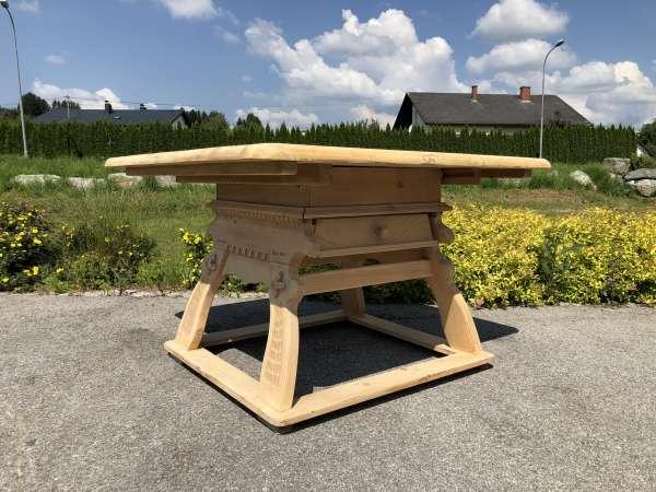 alter Bauerntisch Jogltisch Tisch Landhaustisch Naturholz Z1667