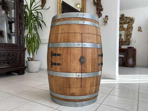 Hausbar Barrique Fass aus Eiche - Weinfass Thresen Bar A2612
