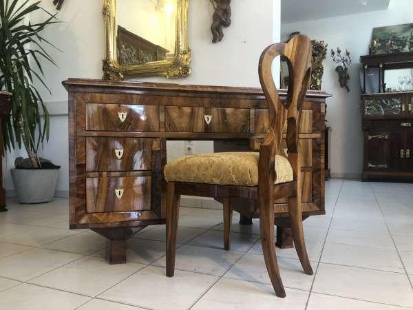 Originaler Spätbiedermeier Schreibtisch Sekretär Schreibmöbel E1382