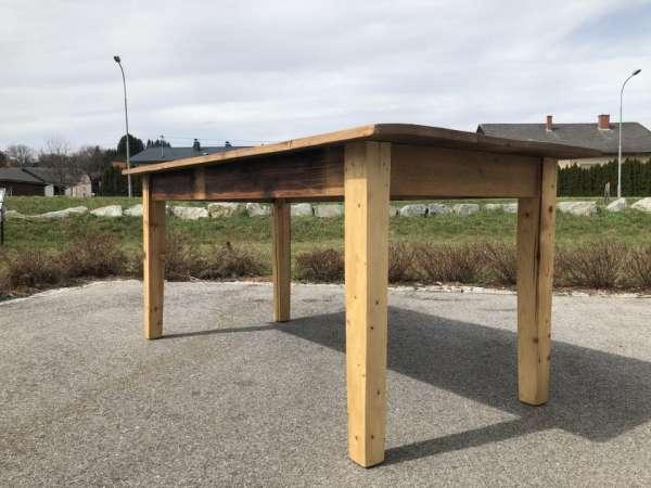 alter Tisch Bauerntisch Jogltisch Landhaustisch Brettholztisch 1,80m X1455