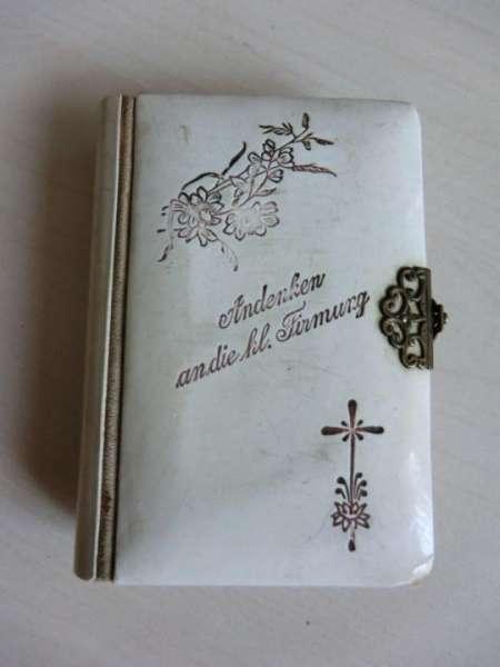 """Andachtsbuch """"Andenken an die hl. Firmung"""" - Erinnerungsstück! Nr. 92"""