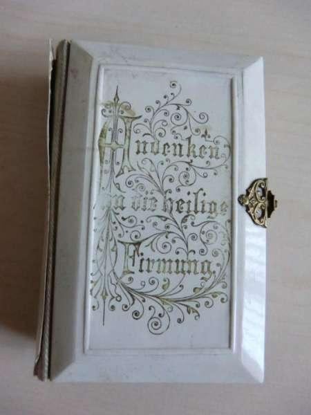"""Andachtsbuch """"Andenken an die hl. Firmung"""" - Erinnerungsstück! 91"""
