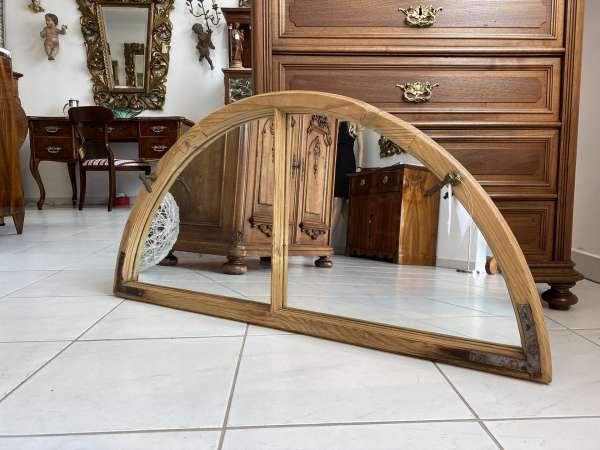 uriges Holzfenster Fenster Spiegel Altmöbel Deko E1924