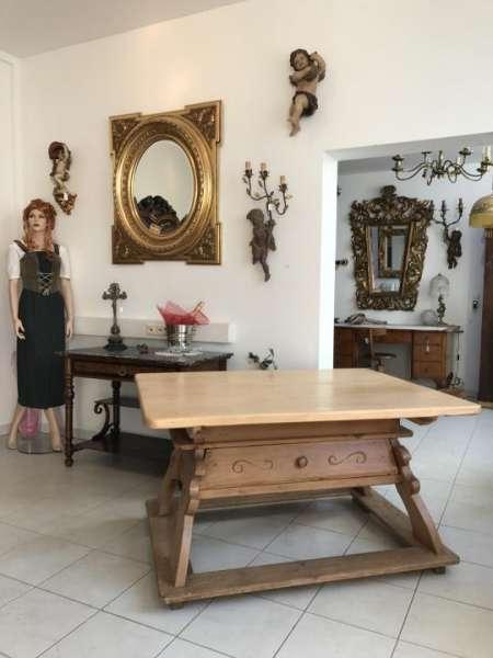 uriger Jogltisch Bauerntisch Tafeltisch Tisch Bauerntisch 137 x 107 - W1367