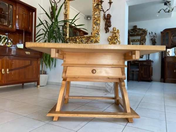 uriger Jogltisch Couchtisch Tisch Landhausmöbel E2201